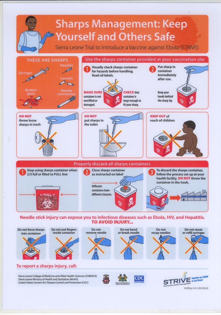 STRIVE Staff Instructions