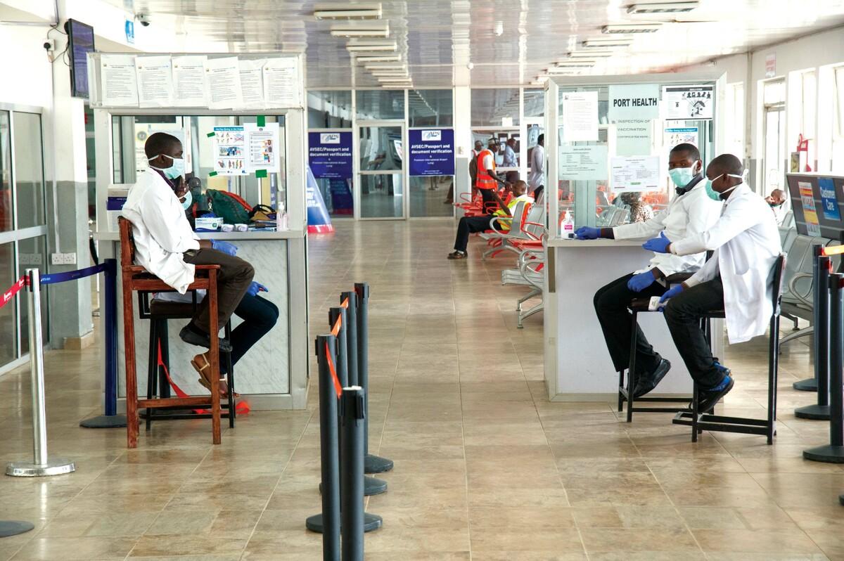 Airport Screening Sierra Leone