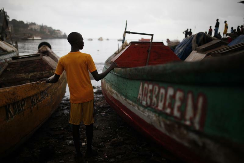 Fisherman Freetown Sierra Leone